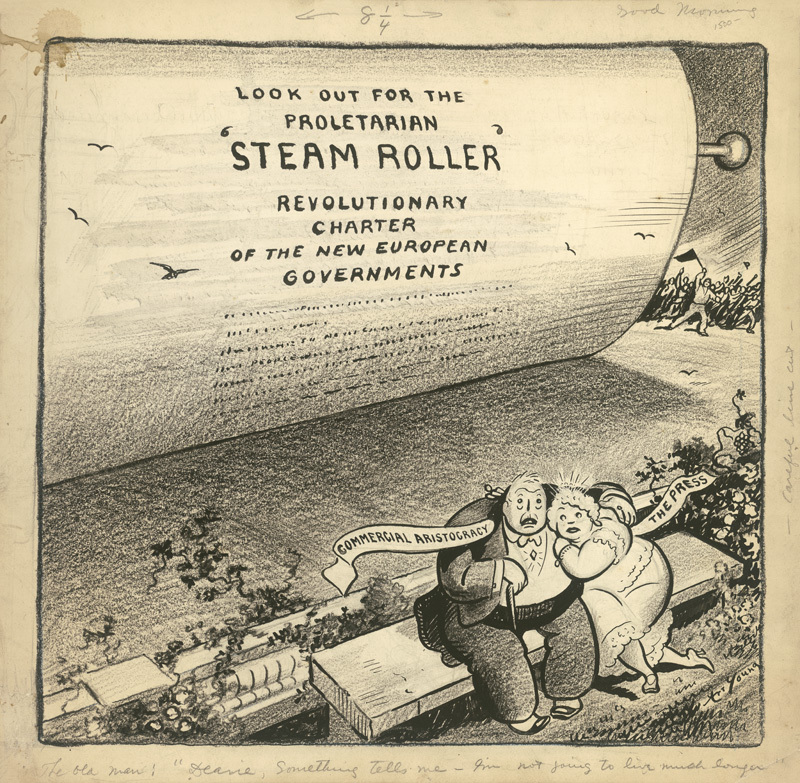 Look Out for the Proletarian 'Steam Roller'