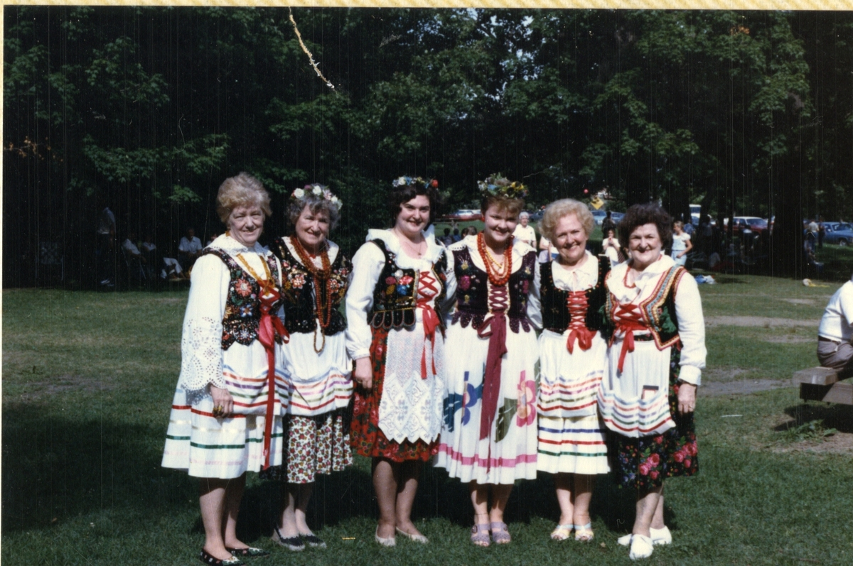 Legion Members in Traditional Dress