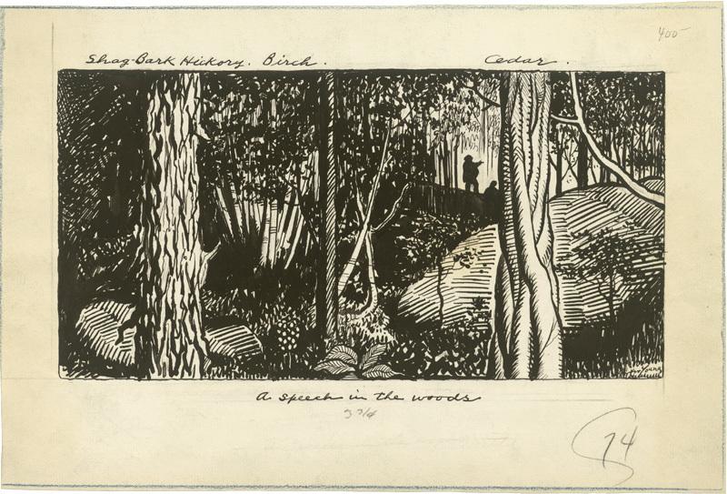 A Speech in the Woods