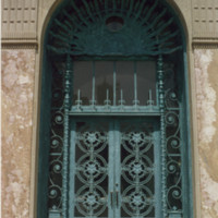 Cudahy Library Door