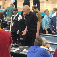 Bill Walton, Sister Jean and Tony