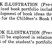 School of Visual Arts Catalog. Fall 1966.