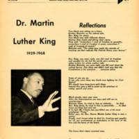 Special Issue on MLK Assassination, Skyscraper, April 9, 1968