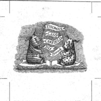 Gorey Designed Personal Book Plates Canfield