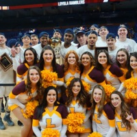 Men's b-ball and dance team