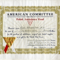 Polish Ambulance Fund Certificate