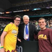Bill Raftery is a fan of Loyola