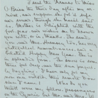 Louise Imogen Guiney letter, page 1