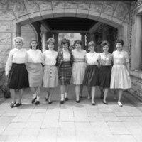 Sophomore Officers, 1963