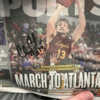 Signed Clayton Custer Sun Times