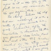 Letter from Mollie to Carl, October 3, 1943